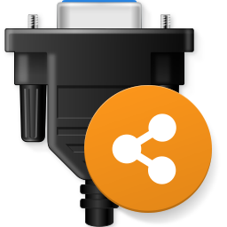 Network Serial Port Kit Icon PNG 256x256